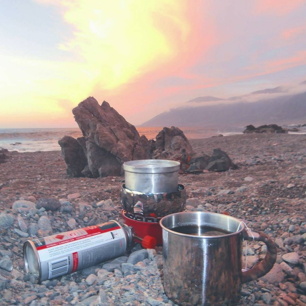 cooking camp stove camping freecamping wildcamping beach camping chile