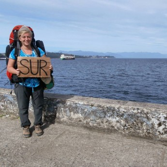 south america chile hitchhiking