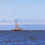 chiloé archipelago caguach sailing boat