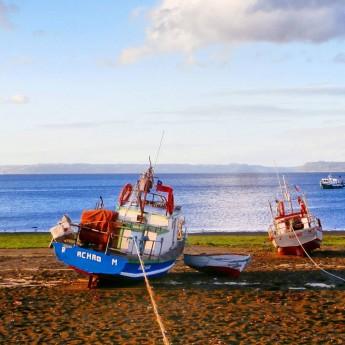 Chiloé archipelago quinchao achao boats