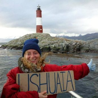 Ushuaia Argentina end of the world hitchhiking Tierra del fuego