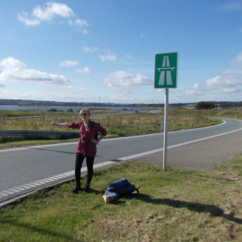 hitchhiking hitching anniversary 4 years a hitchhiker aarhus denmark