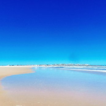 cabo polonio uruguay beach playa disgustingly blue skies