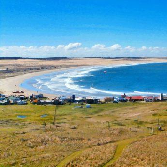 Cabo Polonio Uruguay kitesurfing beach sunshine hiking