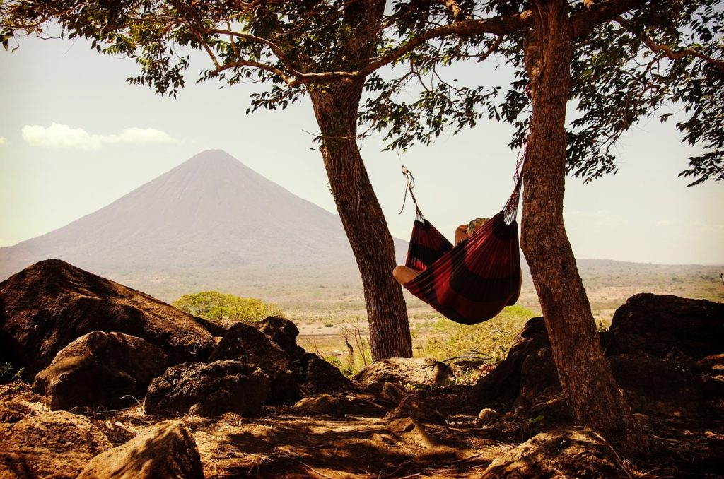 volcano chile hammock relax hamaca 71 reasons south america