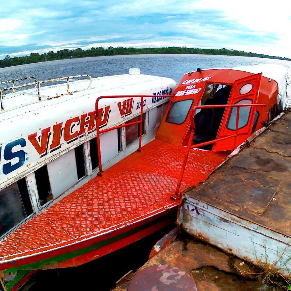 trans vichu rio napo river boat mazan
