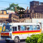 lima city bus system ninja peru