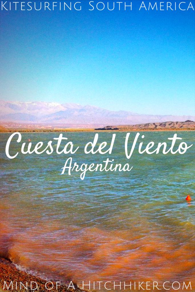kitesurfing south america embalse cuesta del viento rodeo argentina san juan