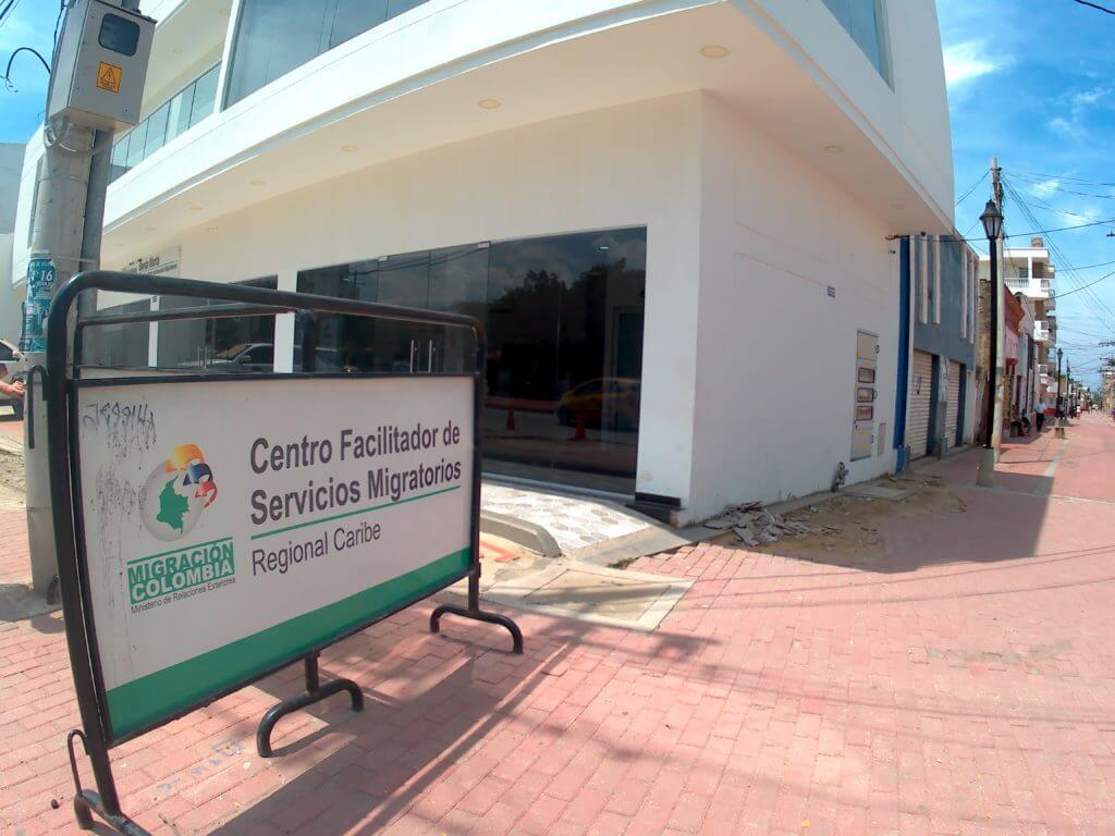 migracion colombia office in Santa marta