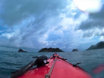 27 kayaking three brothers islands Colombia Providencia