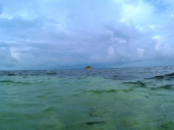 33 Crab Cay after rain storm Colombia Old Providence Providencia