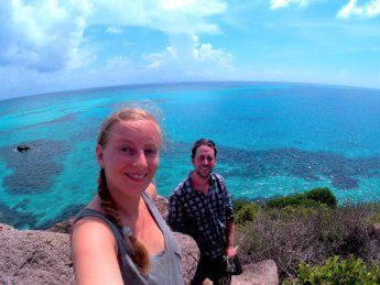 8 selfie Crab Cay Colombia Jonas Iris