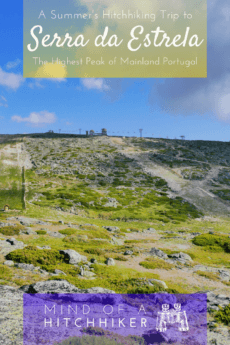 The highest point of mainland Portugal is fairly close to the city of Porto. The best part of this peak? There's a road to the summit you can hitchhike. #Portugal #Portuguese #Porto #Coimbra #Viseu #hitchhiking #hitchhiker #travel #Europe #mountain #summit #countryhighpoint #SerradaEstrela #serra #iberia #iberianpeninsula #torre #Seia #parquenatural #skilift