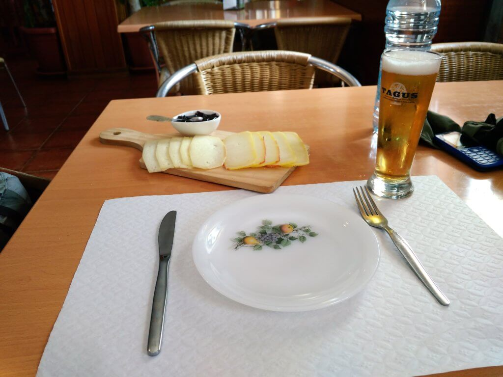 Torre Serra da Estrela restaurant beer cheese queijo
