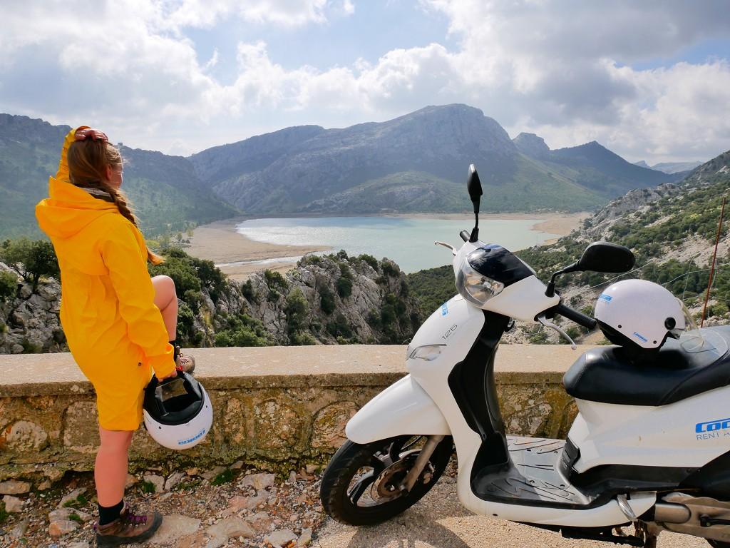 Mirador Del pantà de Cuber Mallorca