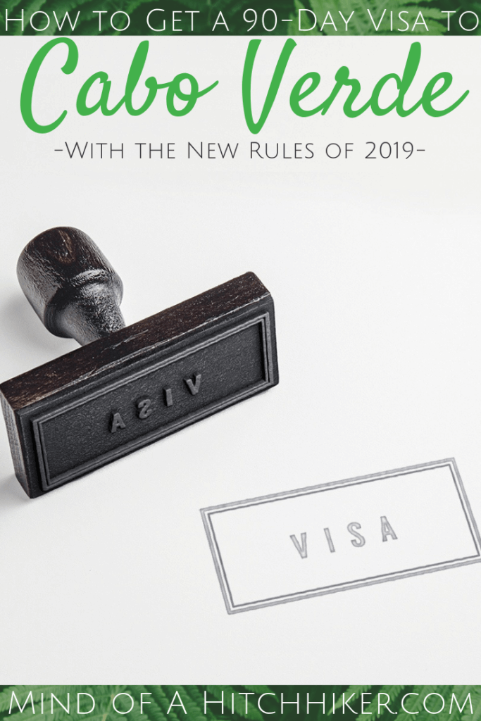 We wanted to stay 90 days instead of 30 days in Cabo Verde. In 2019, the country changed its visa policy and introduced an evisa called EASE. We still tried to get a 90-day visa at the Cabo Verdean embassy in Lisbon, without much success. #CaboVerde #embassy #Lisbon #Portugal #evisa #visaextension #visaonarrival #90days #slowtravel #travel #digitalnomad #CapeVerde #KaapVerdië #кабоверде #CapVert #KapVerde #hitchhiking #passport #visa #visapolicy