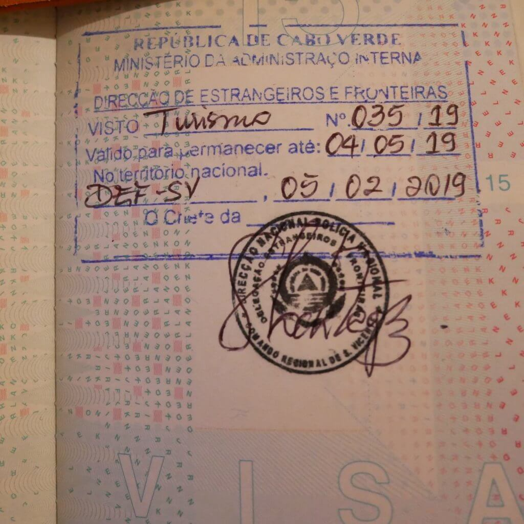 90-day visa cabo verde extension EASE prorrogação visto