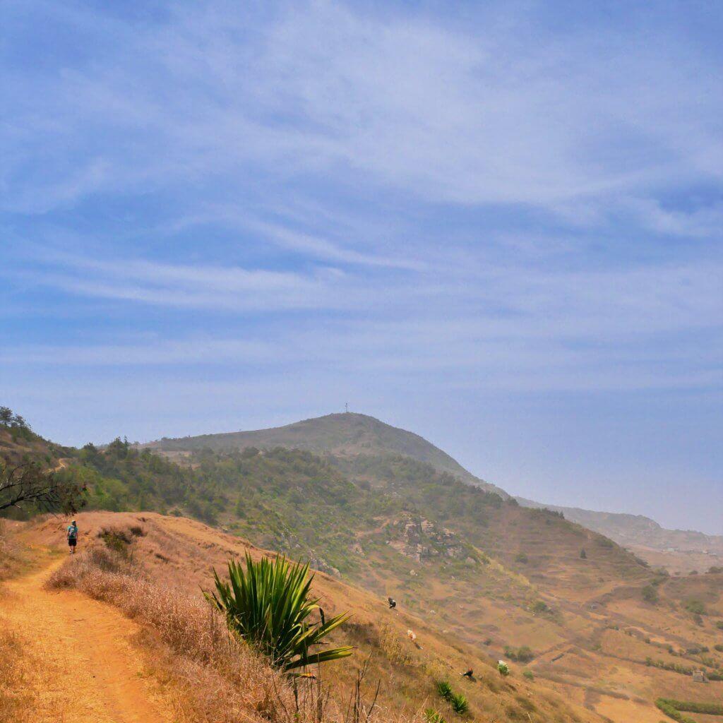 Fontainhas Brava hiking peak island cabo verde hitchhiking nova sintra