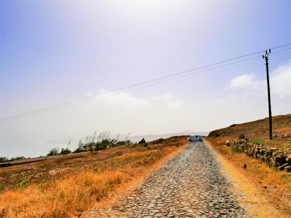 Rental car Monte Verde São Vicente Cabo Verde trip travel hitchhiking