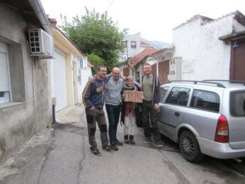 Boračko Lake hitchhiking Sarajevo Mostar Konjic Bosnia and Herzegovina BiH