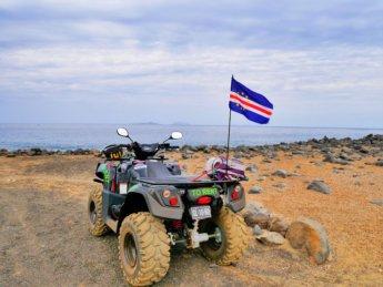 Rental quad 4wd São Nicolau Cabo Verde Santa Luzia Ilheu Raso Branco Barlavento land transportation
