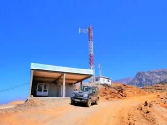 4WD car rental suzuki Santo Antão Tarrafal de Monte Trigo dirt road
