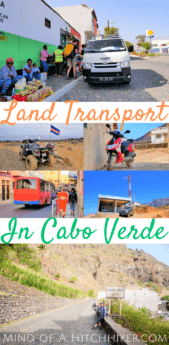 Getting around the Cabo Verde archipelago on the land can be very tricky. This handy guide breaks down the methods of transportation and what to expect from it. #CaboVerde #CaboVerdean #archipelago #Africa #AtlanticOcean #travel #CapeVerde #Kaapverdië #Kaapverdie #CapVert #KapVerde #кабоверде #aluguer #hiace #toyota #hilux #hitchhiking #publictransit #publictransportation