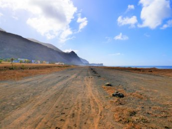 Mosteiros airport runway abandoned defunct airports cabo verde cape verde fogo sotavento aerodrome