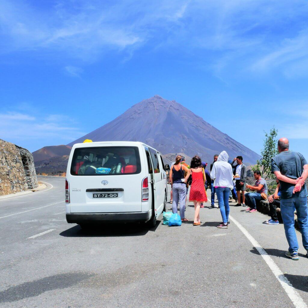 Land Transportation in Cabo Verde a how-to guide aluguer public transit transport hitchhiking bus hiace yasi hilux rental vehicle