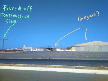 Aeroporto antigo francisco mendes international airport abandoned defunct cabo verde praia santiago building site