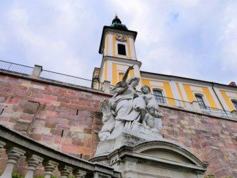 statue donauquelle baar danube donau symbol donaueschingen