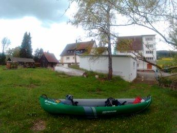 mühle mill dam gutmadingen geisingen donau danube kayak paddle