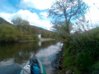 Geisingen pegel kayak paddle canoe danger