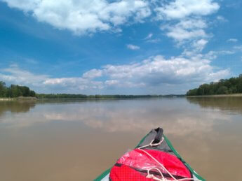 21 Day 9 Donau wasserkraftwerk Faimingen canoe kayak