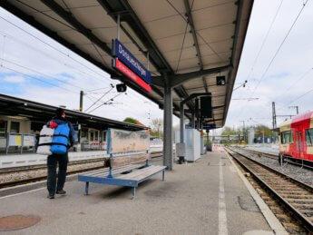 Donaueschingen train station hauptbahnhof Schwarzwald Schwarzwaldbahn