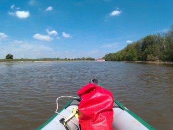Kayak trip day 7 dettingen to neu-ulm donaustetten wasserkraftwerk