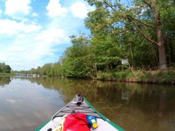 Kayak trip day 7 dettingen to neu-ulm donaustetten wasserkraftwerk wiblingen