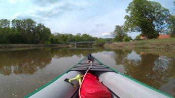 Kayak trip day 7 dettingen to neu-ulm wiblingen wasserkraftwerk ulm neu-ulm rowboat