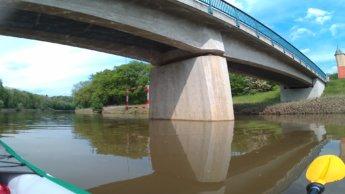 Kayak trip day 7 dettingen to neu-ulm wiblingen wasserkraftwerk ulm neu-ulm rowboat water polo danube donau
