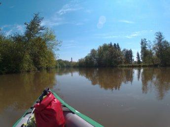 Kayak trip day 7 dettingen opfingen öpfingen baden-württemberg launch spot danube donau