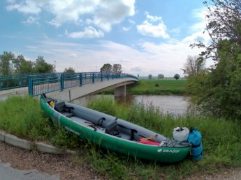 kayak day 6 dettingen landing canoe inflatable paddle bridge packing