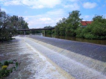 Dam rottenacker wehr weir danger life kayak canoe