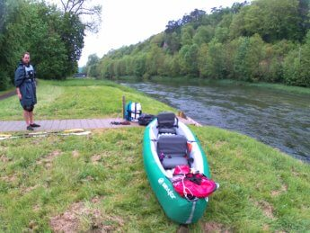 Kayak trip day 5 sigmaringen launch spot kayak inflatable canoe