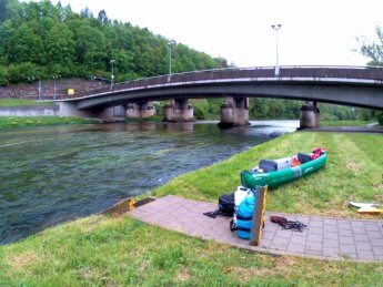 Kayak trip day 5 sigmaringen launch spot paddle day canoe kayak inflatable