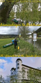 immendingen to muhlheim germany kayak canoe