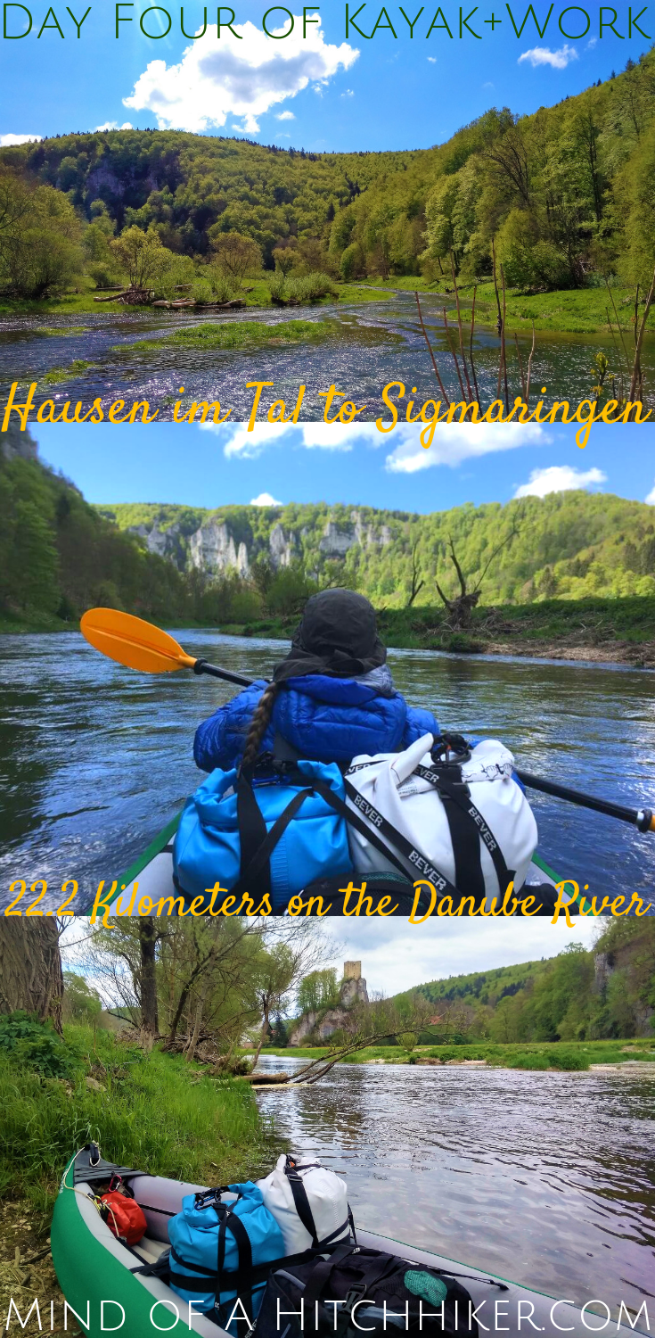 On the fourth day of the Kayak+Work paddle trip, we passed some of the most beautiful scenery on the Danube river. #Donau #HausenImTal #Sigmaringen #BadenWürttemberg #Germany #Deutschland #Danube #kayak #canoe #Swabia #Schwaben #paddling #river #Europe #digitalnomad #travel #journey #adventure #canyon #paddling