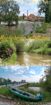 Day six of Kayak+Work: we paddled a short distance on the Danube river from Munderkingen to Dettingen during the remnants of a flooded Danube. The river speed was very fast and we were basically only using our paddles to steer and brake. #Donau #Munderkingen #Dettingen #BadenWürttemberg #Germany #Deutschland #Danube #kayak #canoe #Swabia #Schwaben #paddling #river #Europe #digitalnomad #journey #adventure #outdoors #flood #flooding