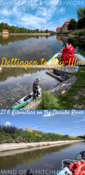 Day seven of Kayak+Work: we crossed our first state border by river between Baden-Württemberg and Bavaria. While the Danube wasn't flooded anymore, a tributary river named the Iller was still in flood condition. Upon arriving in Ulm/Neu-Ulm things got a bit exciting. #Donau #Dettingen #Ulm #NeuUlm #BadenWürttemberg #Bavaria #Germany #Deutschland #Danube #kayak #canoe #Swabia #Schwaben #paddling #river #Europe #journey #adventure #flood #flooding