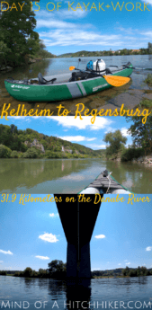 On day 15, we paddled to Regensburg. Regensburg also marks the northernmost point of the Danube river. #Kelheim #Regensburg #Germany #Bavaria #Bayern #Deutschland #Danube #Donau #kayak #canoe #zucchini #inflatablekayak #inflatablecanoe #river #Europe #paddle #paddling #waterproof #digitalnomad #nature