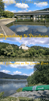 On day 16, we left Regensburg (the northernmost point of the Danube River) and paddled down a kayak slide to Friesheim. We paddled beneath the famous Walhalla hall of fame. #kayak #canoe #Danube #river #walhalla #halloffame #paddling #kayaking #canoeing #kayaker #paddler #canoeist #inflatablecanoe #inflatablekayak #paddle #Donau #Regensburg #Friesheim #Bavaria #Germany